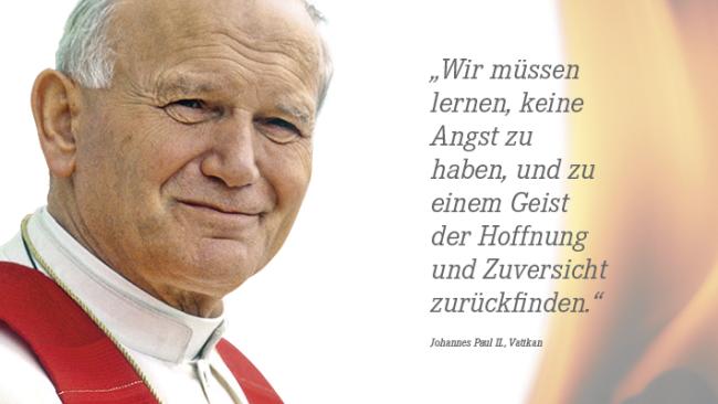 Botschaft Von Papst Johannes Paul Ii Katholisch Informiert Ch