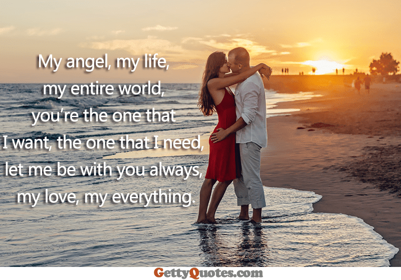 Youre The One That I Want All The Best Quotes At Gettyquotes