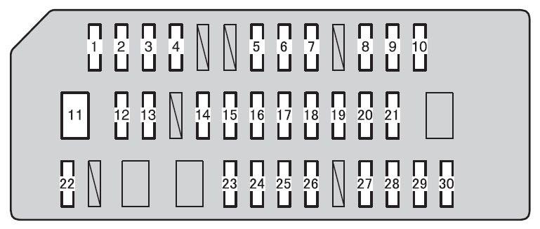 Toyota 4runner From 2013 Fuse Box Diagram Auto Genius
