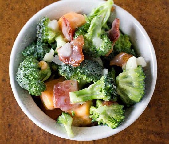 Click Here for broccoli salad recipe