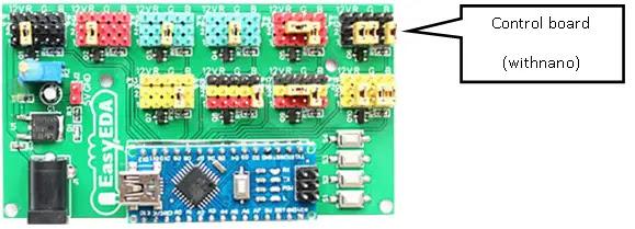 LED Scroll - Control Board