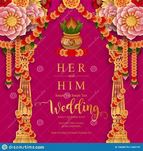 Indian Wedding Invitation Carddian Wedding Invitation Card