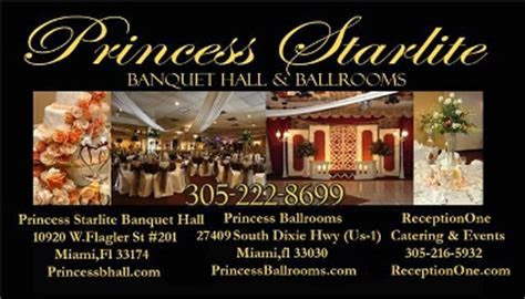 Princess Starlite Banquet Hall   Miami, FL 33174