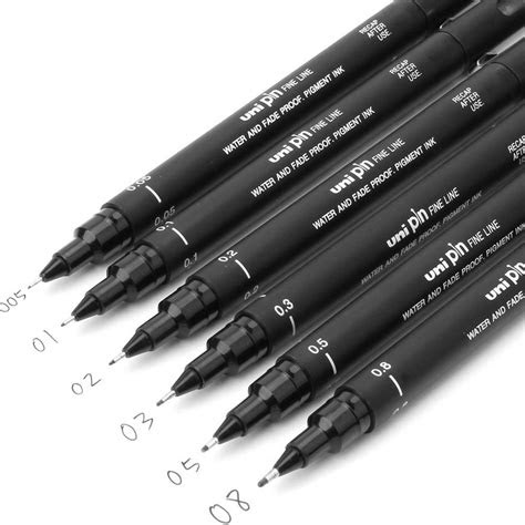pcs fineliner pigma micron drawing