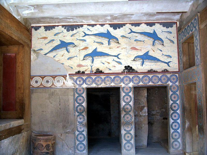 Archivo:Crete knossos dolphins.jpg