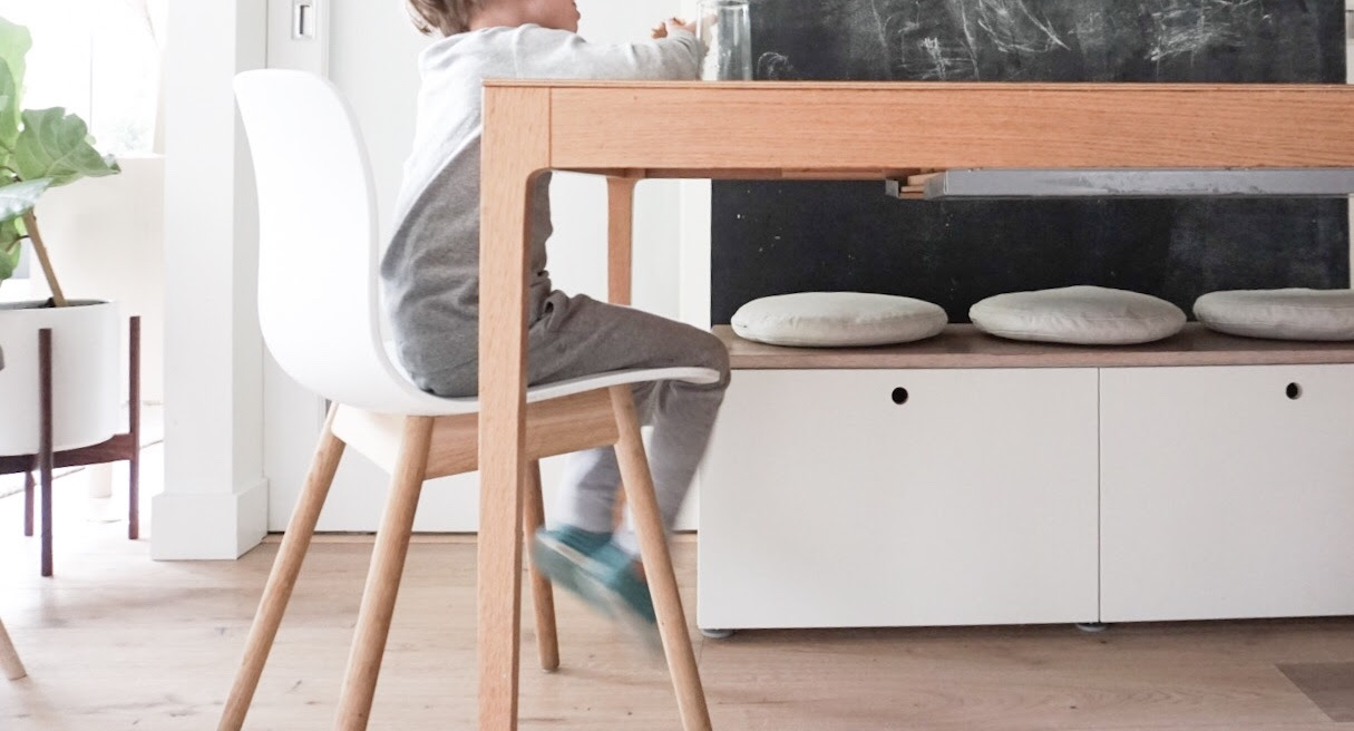 Ikea Hack Small Storage Bench For Our Dining Table 600sqftandababy