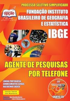 IBGE-AGENTE DE PESQUISAS POR TELEFONE