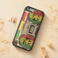 boombox reggae carved® maple iPhone 6 bumper case