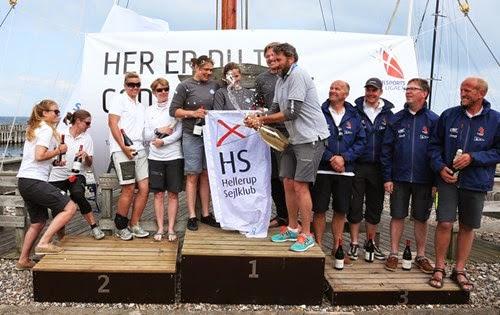 J/70 Danish Sailing League winners