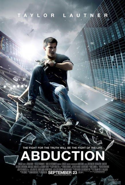 Abduction avec Taylor Lautner : première affiche