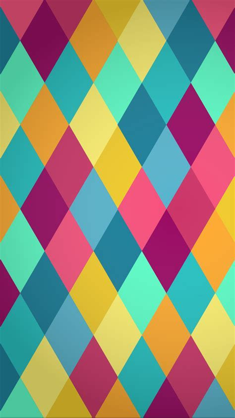 Rhombus Carnival HD Wallpaper For Your Mobile Phone