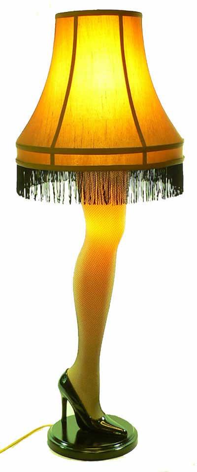 The Leg Lamp A Christmas Story House