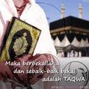 Sebaik-baik bekal adalah Taqwa.