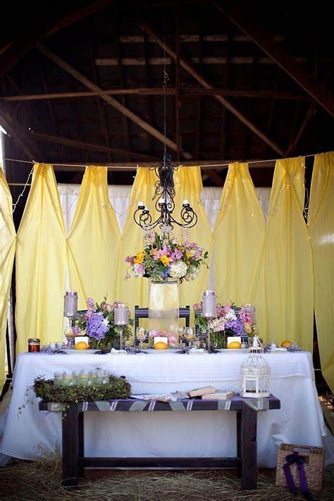Yellow and Purple Barn Wedding Ideas   Wedding, Blog and