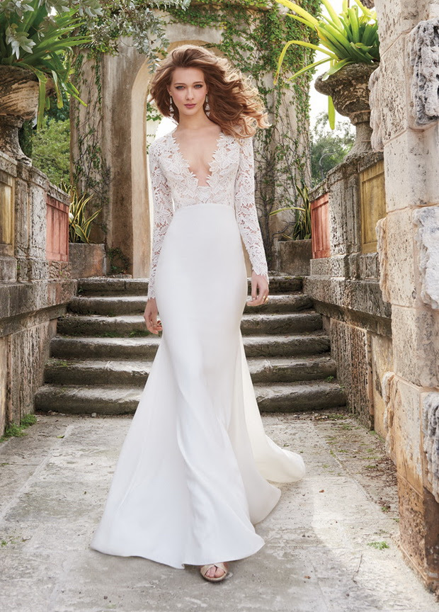 long sleeved wedding dresses – 20 graceful styles for 2015