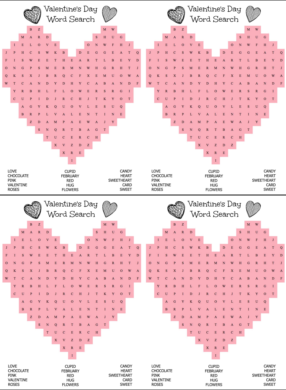 Free Printable Heart Shaped Valentine