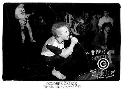 OCTOBER CRISIS 1985