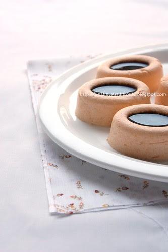 Mini bavaresi di zucca con riduzione di aceto balsamico