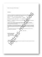 Modèle de lettre type - Juge aux affaires familiales - saisine