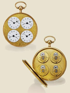 19c03a6a697 1800 Captain s Four Independent Time Zone Pocket Watch by Chantelot a  Marseille Sold for over  50