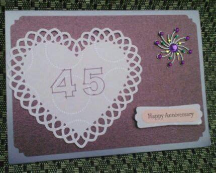 My Mom & Dad's 45th Wedding Anniversary Card
