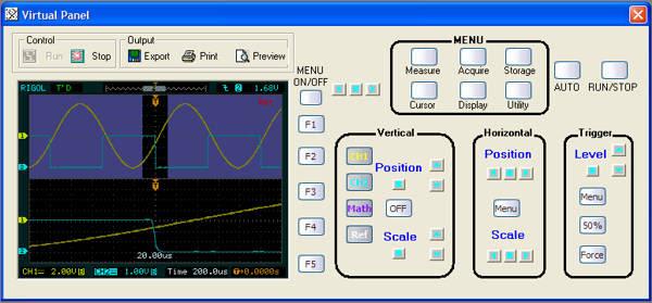 rigol ultrascope software