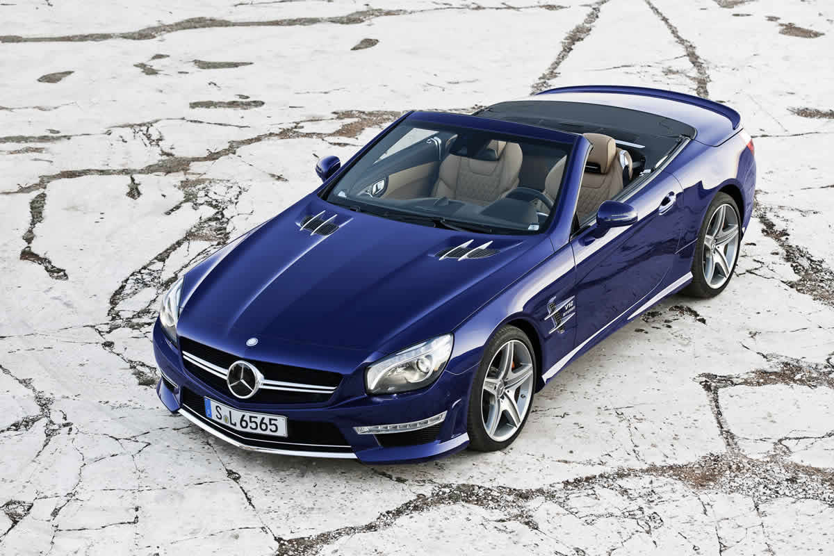 2013 Mercedes SL65 AMG V12 Roadster Launch in Coming Weeks ...