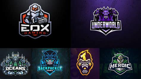 design  esports sports gaming mascot logo  saqib