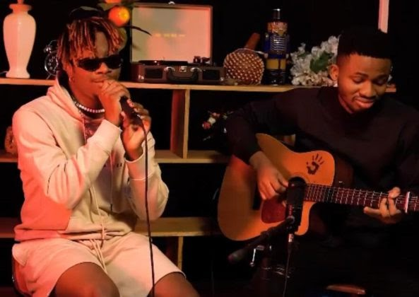 Watch Oxlade's Soul-Stirring Acoustic Performance of 'Frenemies'