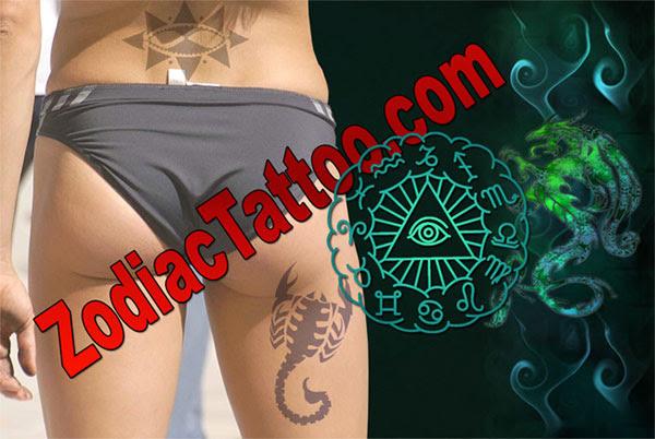 zodiac scorpio tattoos