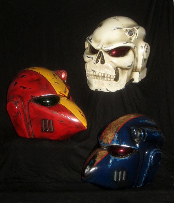 WH40k Helmet Family Portrait
