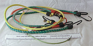 Collection of small Bungee Cords