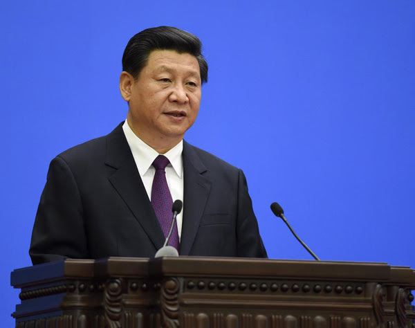 Xi pledges China will never seek hegemony