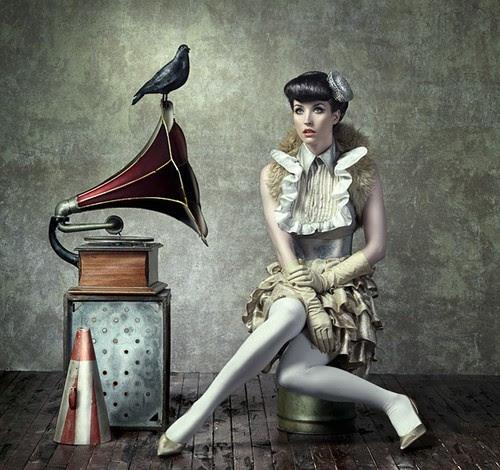 art, artwork, august bradley, beautiful, beauty, bird