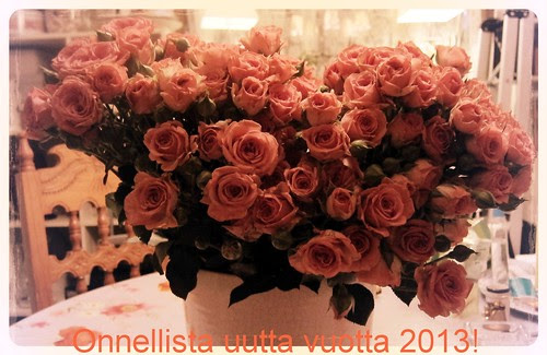 I wish you a Happy New Year 2013! by Anna Amnell