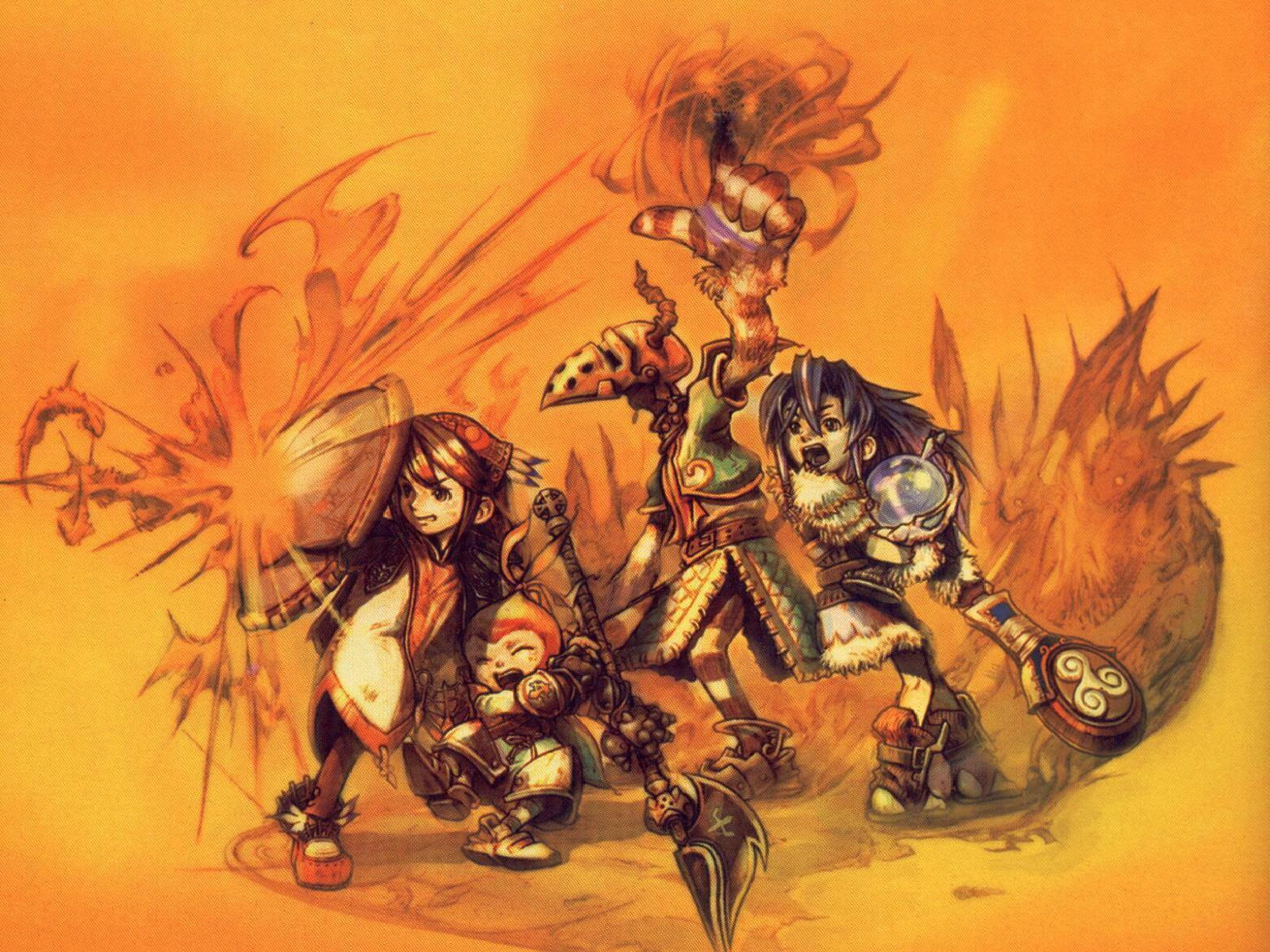 Final Fantasy Crystal Chronicles Wallpaper Chronicle Minitokyo