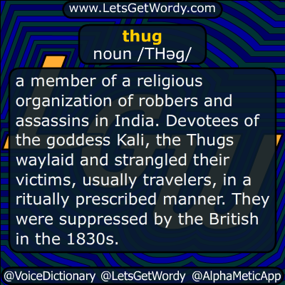 thug 03/15/2016 Definition GFX Definition