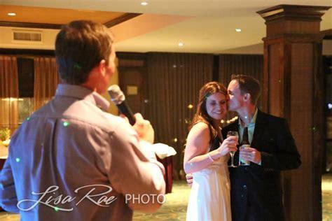 Jennifer & Brandon celebrating their Wedding at Landry?s