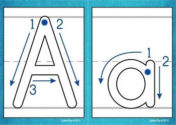 Playdough Mats - Alphabet with Correct Letter Formation | Play ...