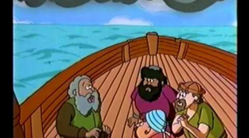 Jonas e a Baleia - Desenhos Bíblicos
