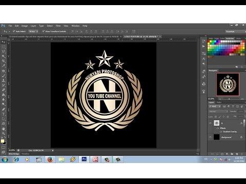 930 Gambar Desain Logo Di Photoshop HD Yang Bisa Anda Tiru