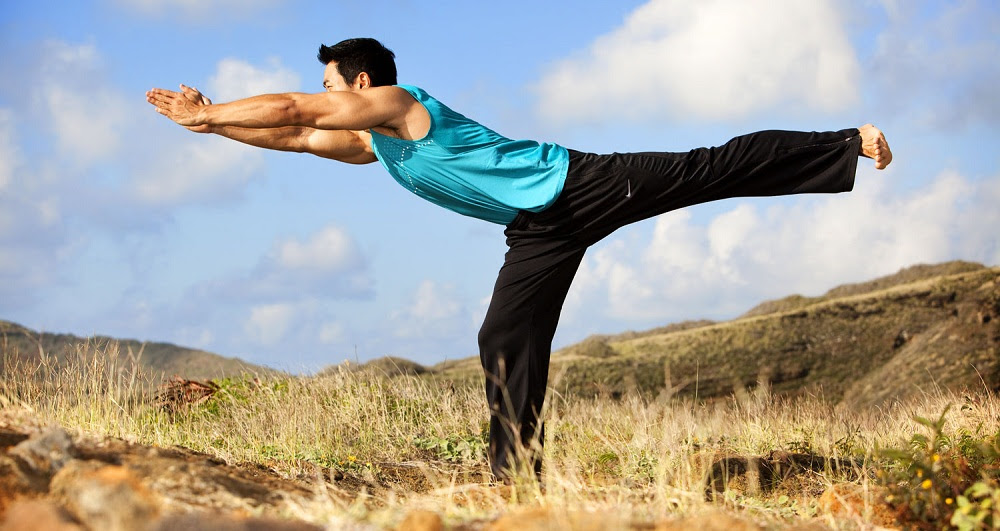 Virabhadrasana III or Warrior 3 Pose