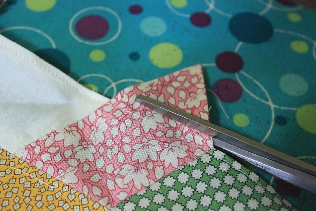 Twisted Hexagon quilt