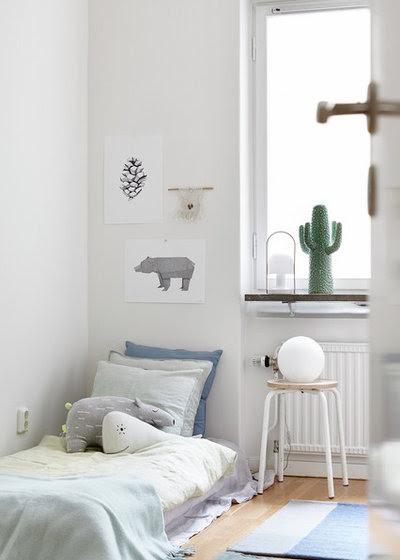 Nórdico Dormitorio infantil by Hejnum