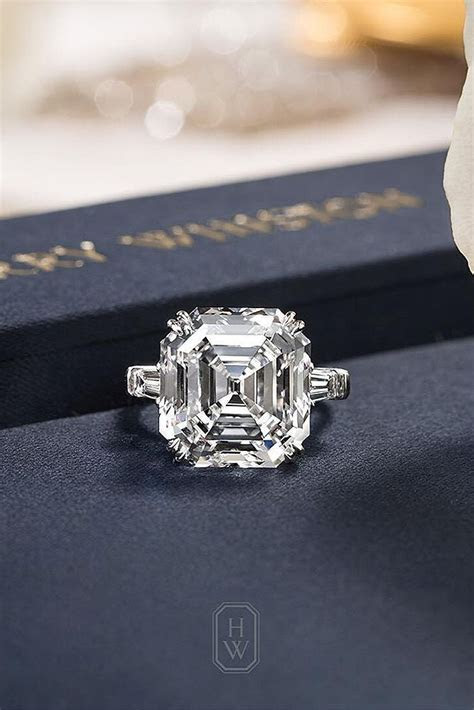 33 Gorgeous Harry Winston Engagement Rings   Big Diamonds