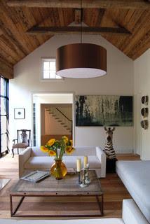 Shelter Island House #2 contemporary living room