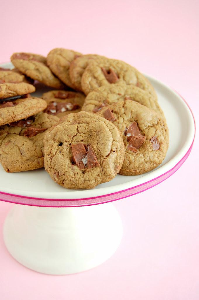 Toblerone cookies / Cookies de Toblerone