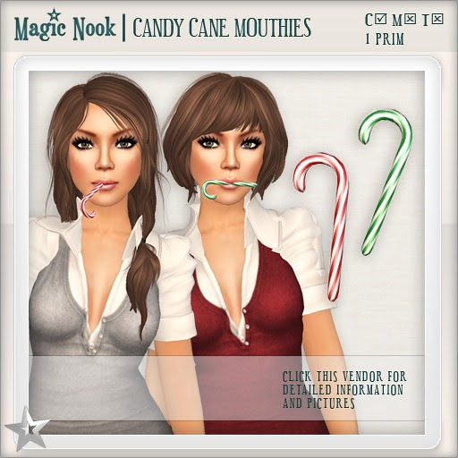 [MAGIC NOOK] Candy Cane Mouthies