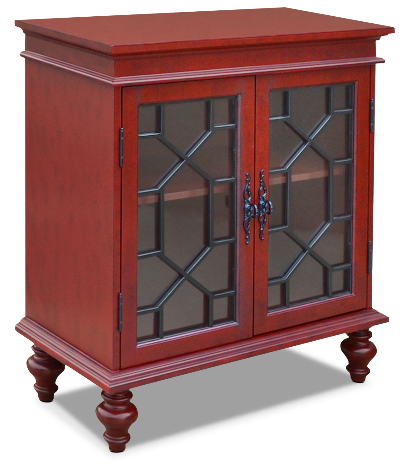 Rigolet Small Accent Cabinet - Red | The Brick
