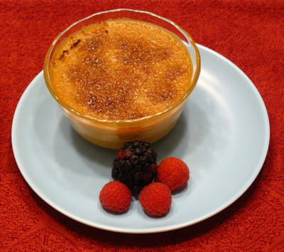 Pumpkin Crème Brulée